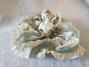 Sweet Victorian Porcelain Half Doll