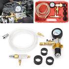Auto Car Vacuum Purge Refill Tool Set Radiator Pressure Tester Cooling System