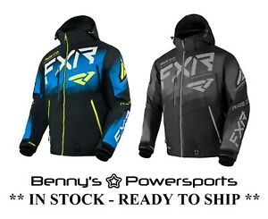 FXR Boost FX 2-IN-1 Jacket Mens Insulated Removable Liner Snowmobile F.A.S.T.
