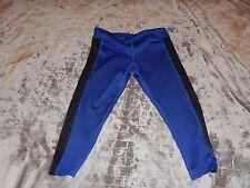 Zumba Wear capri LEGGING pants Dance black blue XS