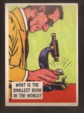 1957 TOPPS ISOLATION BOOTH #74 SMALLEST BOOK EXMT+   * PARTIAL SET BREAK *