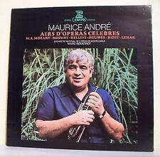 33T Maurice ANDRE Disque LP AIRS D'OPERAS CELEBRES -MOZART Trompette ERATO 71132