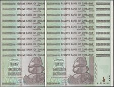 25x 50 TRILLION ZIMBABWE DOLLAR MONEY CURRENCY.UNC* USA SELLER*