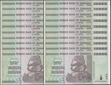25x 50 TRILLION ZIMBABWE DOLLAR MONEY CURRENCY.UNC* USA SELLER*