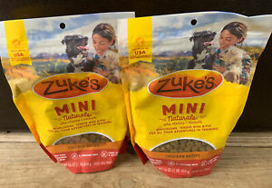 Zuke's Mini Naturals Dog Treats, Roasted Chicken, 16 Ounce 2 Packs Free Shipping