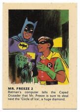 1966 Batman Weeties & Rice Krinkles Mr. Freeze 2