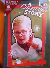 A Christmas Story Movie Christmas Cards w Envelopes Mint American Greetings Htf