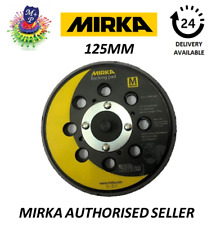 "Mirka CEROS, DEROS, ROS & PROS Backing Pad (5"") 125mm 28 Hole MEDIUM 8292502511"