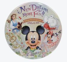 TDR Tokyo Disney Resort Button 2020 New Area Mickey Baymax Minnie Bell