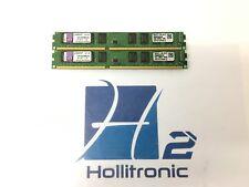 Kit of 2 Kingston KVR1333D3N9K2/4G 4GB (2GBx2) DDR3 Desktop Memory