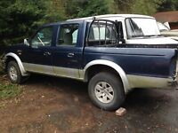 FORD RANGER DOUBLE CAB PICKUP 2004 BREAKING PARTS