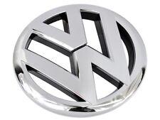 VW POLO MK5 6R FRONT120mm GRILLE EMBLEM CHROME BADGE 6R0853600A
