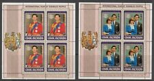 1981 Cook Islands International Year of Disabled set of 2 mint minisheets.