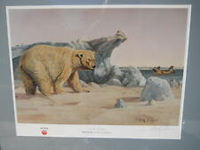 Ruger Firearms North Americans Polar Bear Eskimos Artist Proof by Gary Swanson