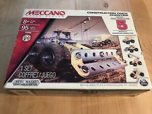 Meccano Maker System Construction Crew Chantier 15203 New Sealed