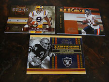 2008 Donruss Classics Football---Misc. Inserts---Lot Of 3---All #/1000--See List