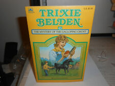 Trixie Belden #39 - The Mystery of the Galloping Ghost /Square PB Edition UNREAD
