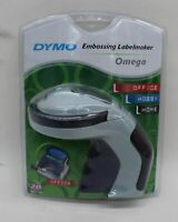 DYMO 12748 Omega 9mm Turn & Click Portable Office Embossing Labelmaker NEW