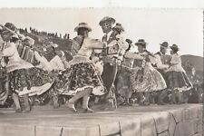 B78724 cuzco bailarines de puno a la fiesta de  types peru scan front/back image