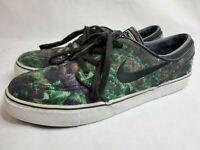Nike SB Stefan Janoski Forest Ferns Mens Size 9.5 Skateboard Shoes 705190-301