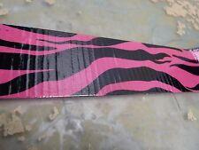 "Pink zebra duct tape 1.88""x10yd roll decorative fashion crafts (2*R-25)"