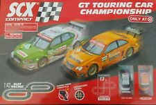 SCX 1:43 Slot Car Set AMG Mercedes Audi NEW IN BOX (NIB) + BONUS TRACK