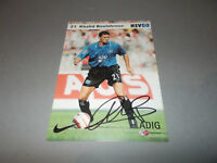 Khalid Boulahrouz HSV Niederlande signed signiert  Autogramm auf Autogrammkarte