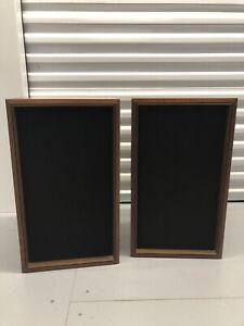 Panasonic SB-350 4-Way Speakers Wood Cabinets