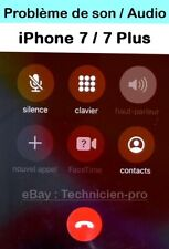 reparation carte mère iPhone7/7+Probleme de son/audio/micro Rapide 24h