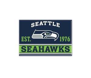 Seattle Seahawks Photo Magnet with Logo, NFL Football, Team Gründungsjahr