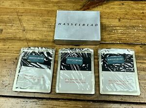HASSELBLAD 51012 CUT SHEET FILM HOLDER TIHLC X3 **NEW OLD STOCK**
