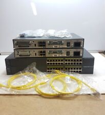 CISCO CCNA CCNP LAB ADV KIT 1841 ROUTER 2960 SWITCH WIC CARDS DTE DCE CABLES