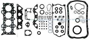 01-05 Honda Civic Vtec EX HX 1.7L D17A2 1.7 SOHC Full Engine Gasket Set