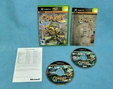 XBOX Original Game PAL: Conker Live and Reloaded Rare game