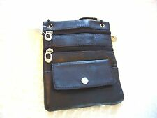 LADIES WOMEN'S GIRLS LEATHER HAND BAG OVER THE SHOULDER PURSE WALLET CELL PHONE
