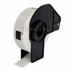 5x Brother Compatible DK-11204 Printer Labels 17x54 Roll+Spool for QL-560 QL-570