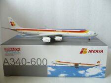 Dragon Wings Iberia Airbus A340-600, Reg.#EC-IOB, 1:400 Scale, *RARE*
