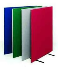More details for free standing office screen/dividers- available in different sizes and colours