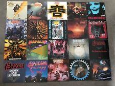 Thrash Speed Heavy Metal Sammlung 20 LPs Vinyl AC/DC Accept Anthrax Saxon Dio