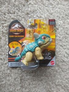 Jurassic World SNAP SQUAD Camp Cretaceous Ankylosaurus Bumpy MATTEL