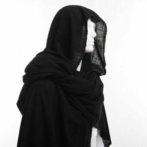 Medieval Shaman elven ranger Shawl Men Wrap Cloak Post Apocalyptic Men Scarf