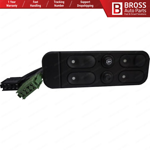 Bross Auto Parts BDP730 Power Window Switch 1240600 for Opel Vectra A Cavalier