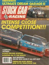 STOCK CAR RACING 1989 AUG - Ed Carroll, Fred Rosner, The Spears Shop, Meservy