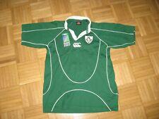 IRFU IRELAND WORLD CUP 2007 CANTERBURY RUGBY SHIRT (12 YRS / S )