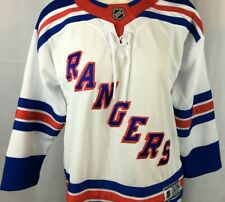 a656286c NEW Premier NHL New York Rangers Team Stitched Letter White Jersey Womens  L/XL