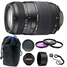 Tamron AF 70-300mm Macro Zoom Lens for Canon EOS DSLR Camera + Accessories
