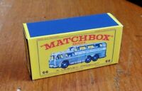 MATCHBOX 'REGULAR WHEELS' NO.66c GREYHOUND BUS, CUSTOMISED DISPLAY BOX ONLY