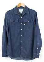 G-Star Raw Uomo Camicia Denim Casual Taglia M LZ65
