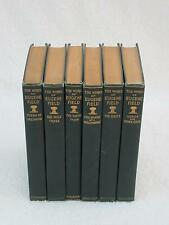 Lot of 6 THE WORKS OF EUGENE FIELD Vols 4-9 Charles Scribner's Sons 1903