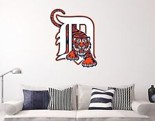 Detroit Tigers  MLB Wall Decal Sports Baseball Sticker Vinyl Decor Many size